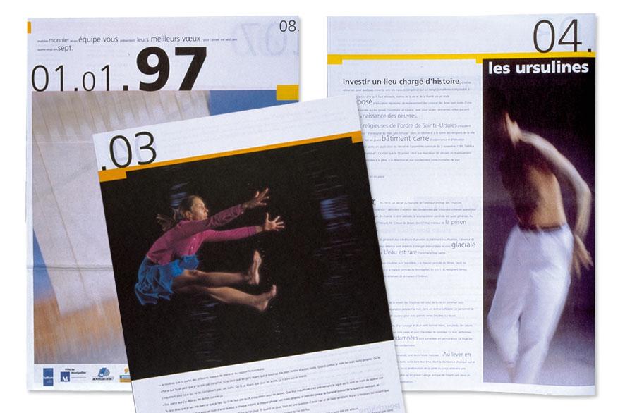 pippo lionni - centre choregraphique montpellier - ldesign - identity
