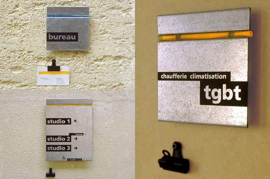pippo lionni - centre choregraphique montpellier - ldesign - signage