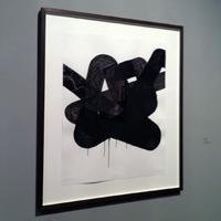 UT 244, (2013, acrylic on 200g paper, 65x50cm) Bernard Jacobson Gallery, London