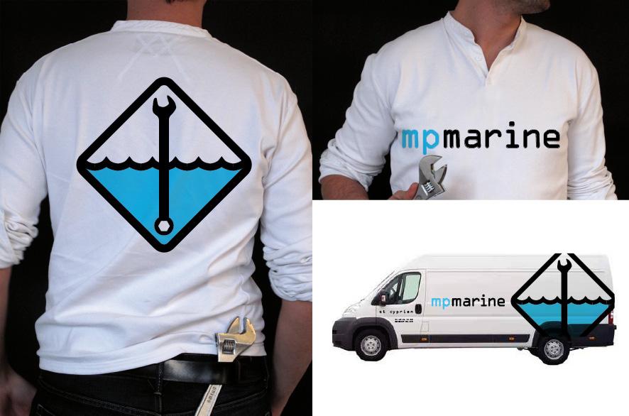 pippo lionni - mp marine - ldesign - identite - identity - graphics