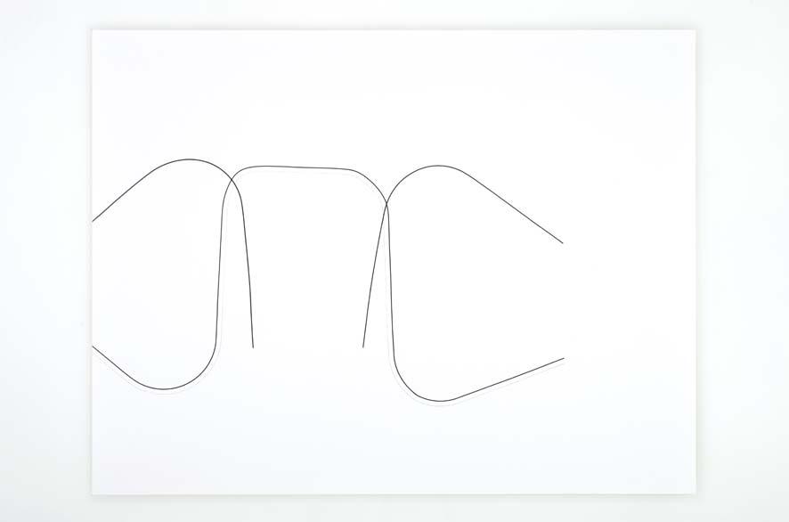 SINGULARITY 236, 2012,acrylic on 200g paper, 50x65cm