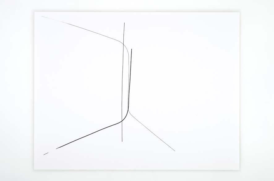 SINGULARITY 249, 2012, acrylic on 200g paper, 50x65cm