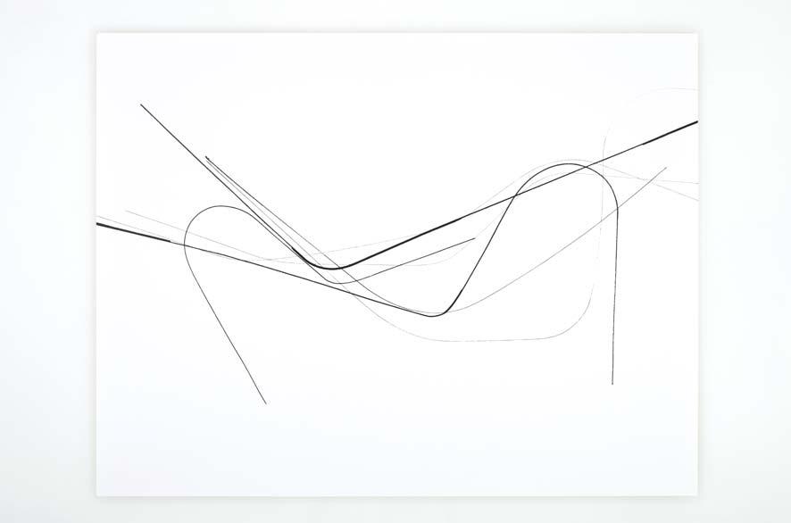 SINGULARITY 250, 2012, acrylic on 200g paper, 50x65cm