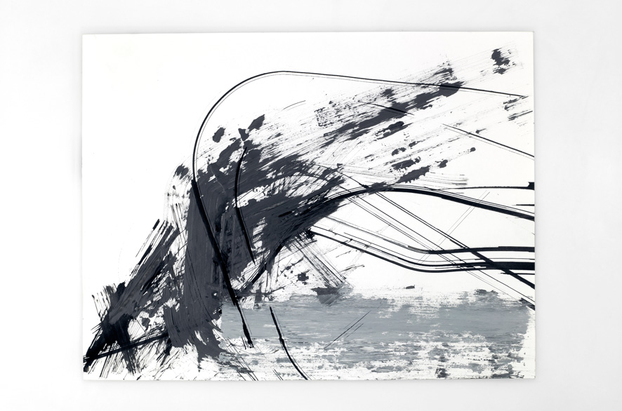 Pippo Lionni BACKLASH 1, 2011, BACKLASH 24, 2011, acrylic on 200g paper, 50x65cm