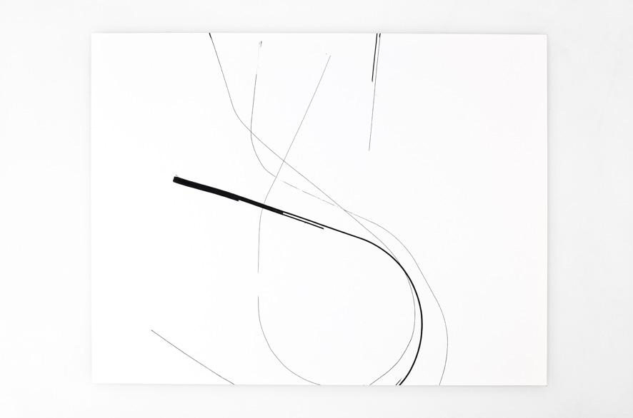 Pippo Lionni SINGULARITY 186, 2011, acrylic on 200g paper, 50x65cm