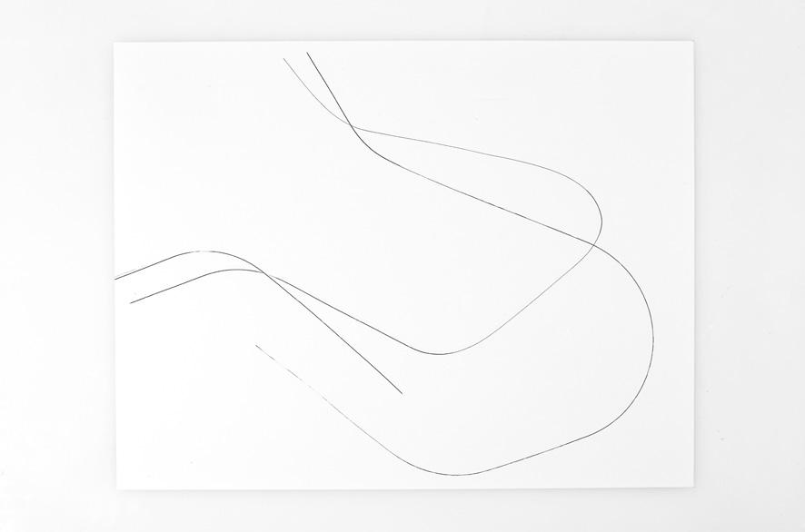 Pippo Lionni SINGULARITY 204, 2011, acrylic on 200g paper, 50x65cm