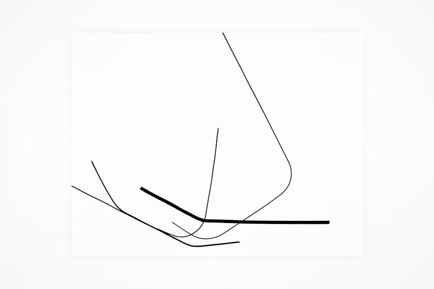 Pippo Lionni SINGULARITY 323, 2013,acrylic on 200g paper, 50x65cm