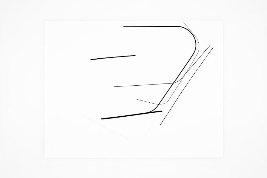 Pippo Lionni SINGULARITY 327, 2013,acrylic on 200g paper, 50x65cm