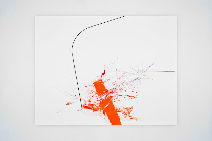 Pippo Lionni UNTITLED 24, 2013, acrylic on 200g paper, 50x65cm