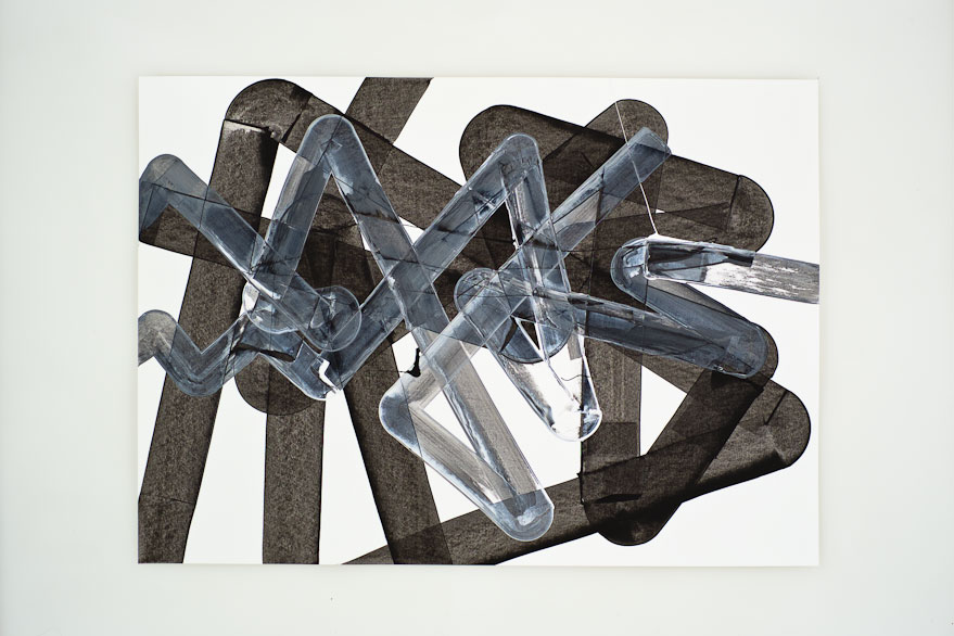 Pippo Lionni, UNTITLED 282, 2013,acrylic on 220gpaper, 50x70cm