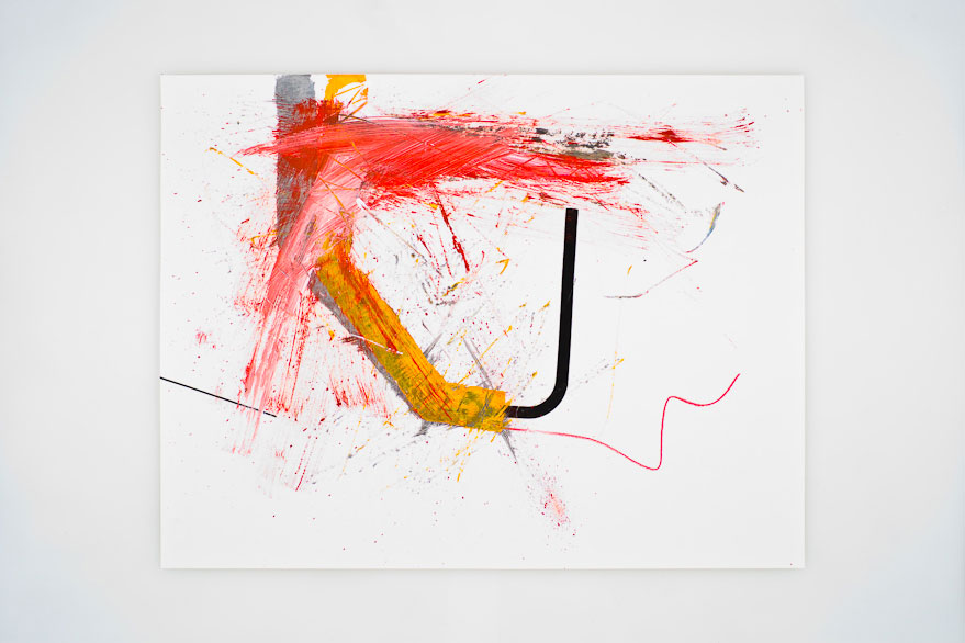 Pippo Lionni UNTITLED 36, 2013, acrylic on 200g paper, 50x65cm