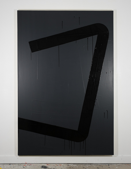Pippo Lionni, UNTITLED 663, 2014, 48°02°, acrylic on canvas, 195x130cm