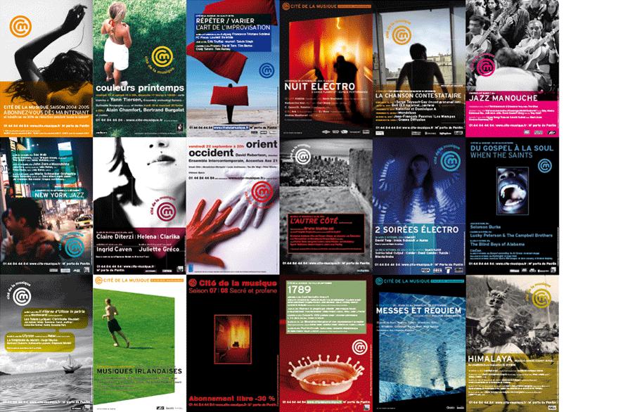 ldesign - pippo lionni - cite de la musique - affiche - poster - identity