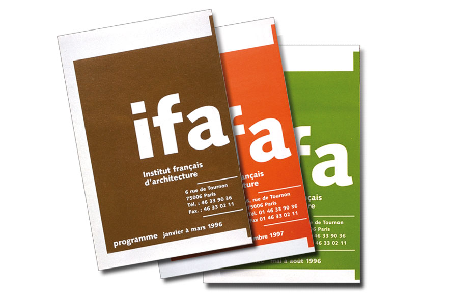 pippo lionni - IFA - edition - publishing - identity - graphics