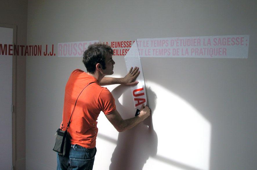 pippo lionni - bretonneau - signaletique - signage - identity