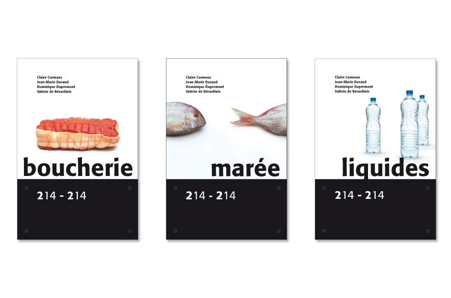 Pippo Lionni - Carrefour - signage - signalétique - ldesign
