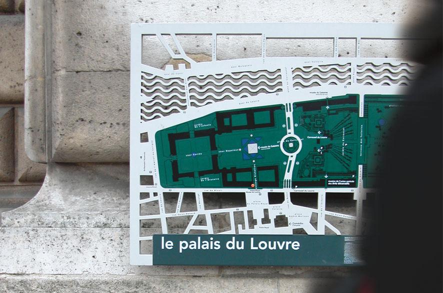 pippo lionni - louvre - signaletique - signage - identity - ldesign