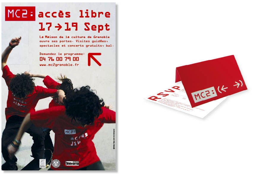 Pippo Lionni - MC2 Grenoble - ldesign - identite - identity - graphics
