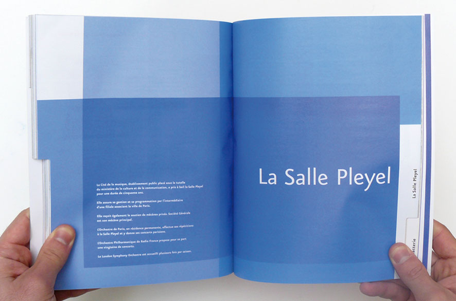 pippo lionni - salle pleyel 07/08- edition - publishing - identity - graphics