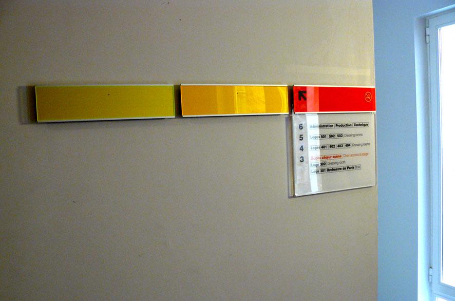 pippo lionni - salle pleyel - signaletique - signage - identity - ldesign