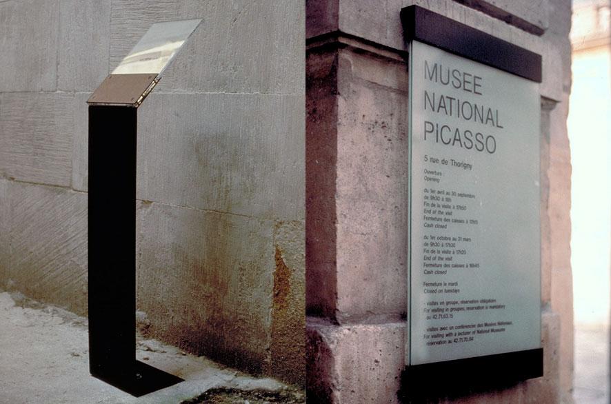 ldesign - pippo lionni - silenzio uno - signage - signalétique