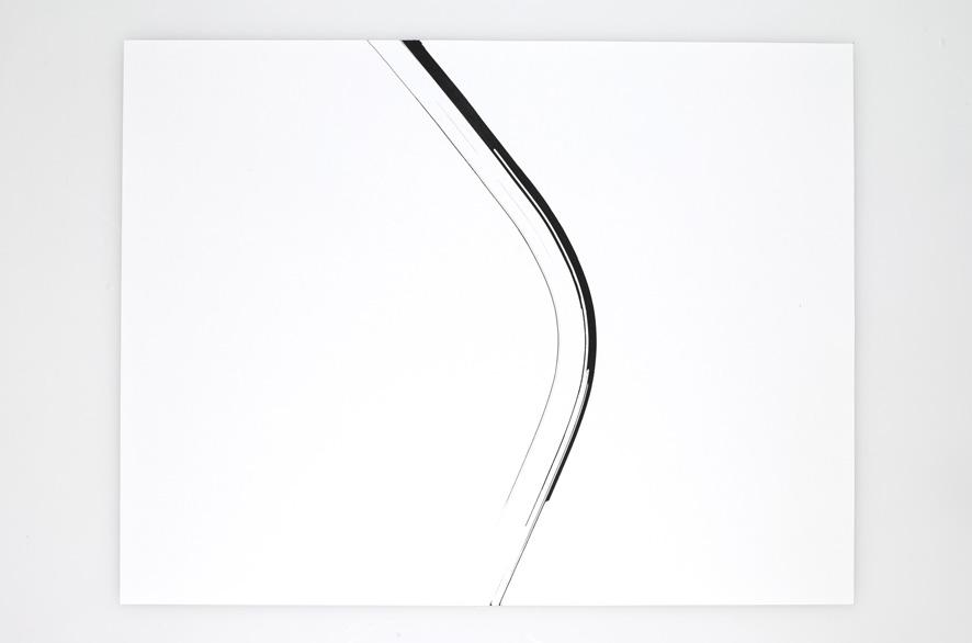 pippo lionni - SINGULARITY 38, 2011, acrylic on 200g paper, 50x65cm