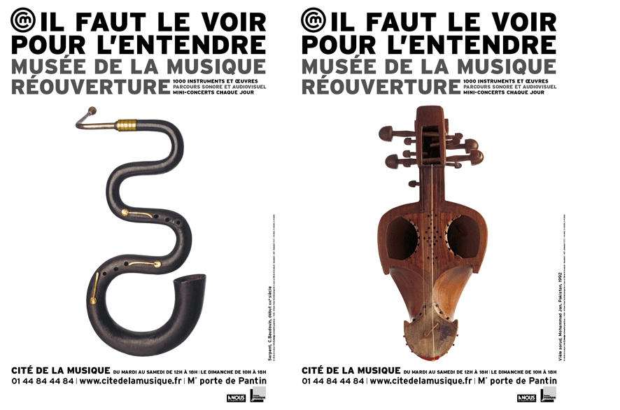 pippo lionni - musee de la musique - edition - publishing - graphics