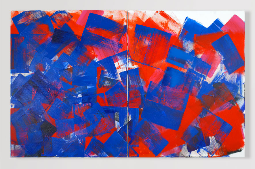 Pippo Lionni CANIBE. 2009, Acrylic on canvas, 2x 80 x 100 cm