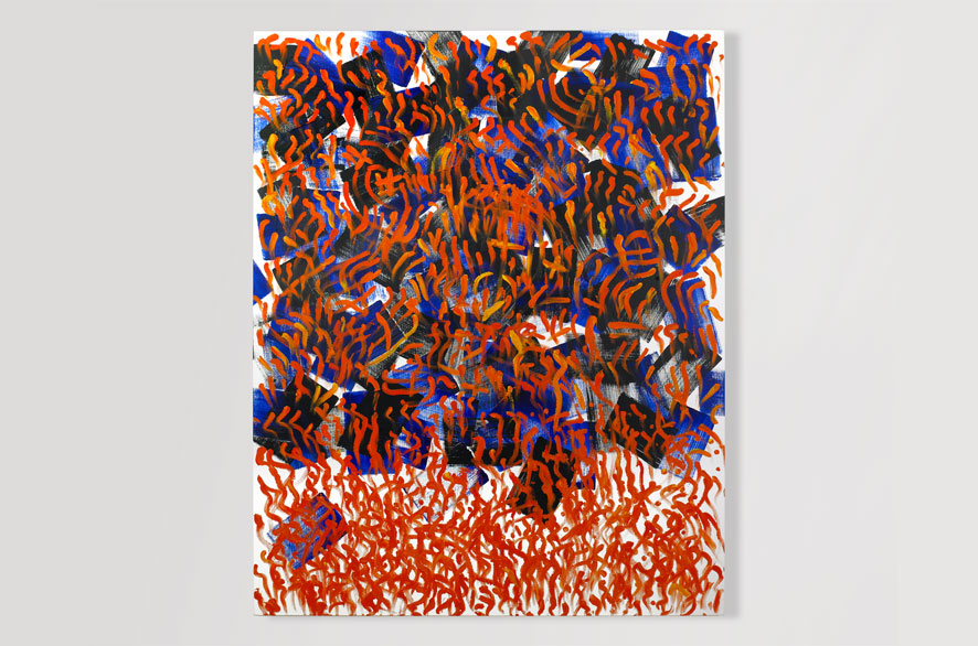 Pippo Lionni COLOR 11, 2009, Acrylic on canvas, 160 x 130 cm