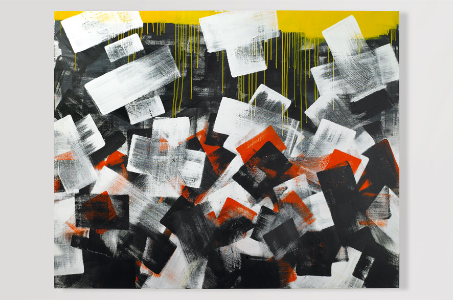 Pippo Lionni COLOR 13, 2009, Acrylic on canvas, 160 x 130 cm
