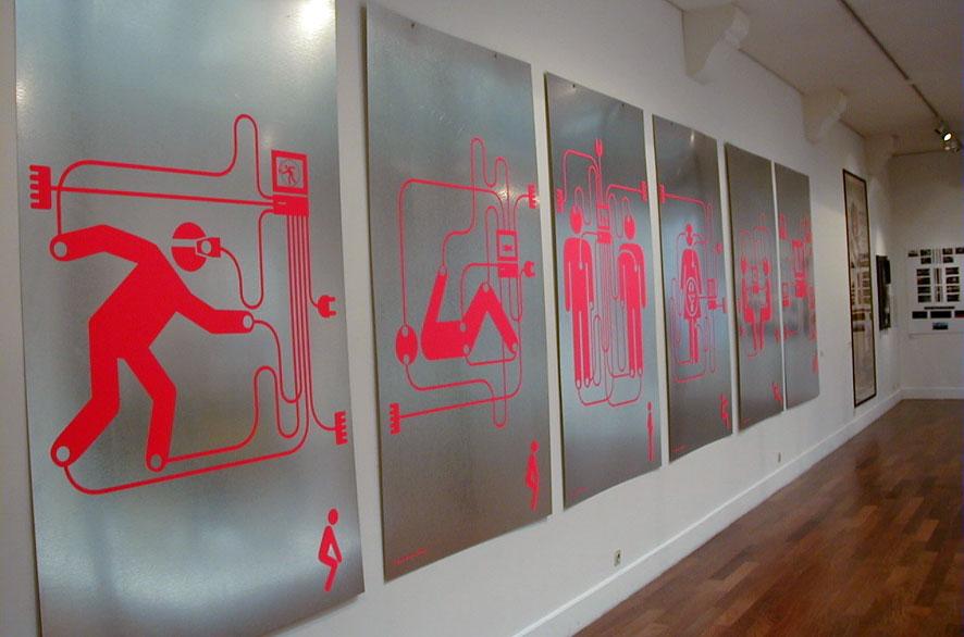pippo lionni - exhibition - expo - passage de retz - passage du siecle