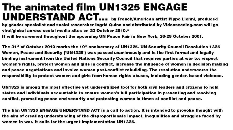 pippo lionni - ONU - UN - film