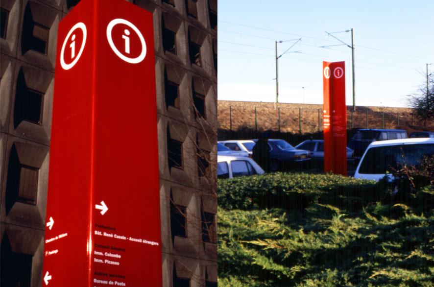 pippo lionni - prefecture de seine-saint-denis - signage - signalétique- ldesign